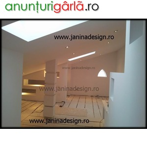 Imagine anunţ Amenajari mansarde, poduri case, design gips carton