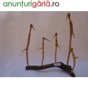 Imagine anunţ Familie de pasari . Simbol al Deltei Dunarii .