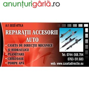 Imagine anunţ Reparatii reconditionari casete servodirectie