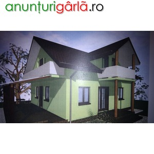 Imagine anunţ casa in Roman constructie noua avans minim