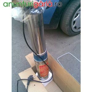 Imagine anunţ pompa submersibila inox cu 10 turbine, urgent!