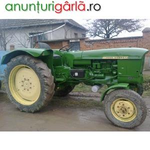 Imagine anunţ vand tractor jhon deere