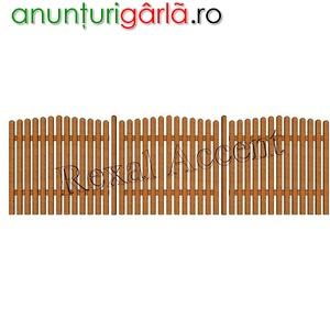 Imagine anunţ Garduri de lemn din uluci