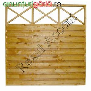 Imagine anunţ Garduri din lemn - Gard SOLID DREPT