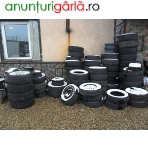 Imagine anunţ jante tabla si anvelope