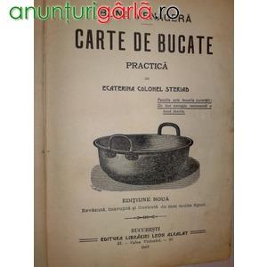 Imagine anunţ vand carte de bucate din 1907