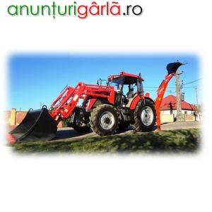 Imagine anunţ tractor, buldoexcavator