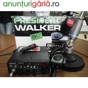 Imagine anunţ Statie Auto President + Antena Sirio 5000