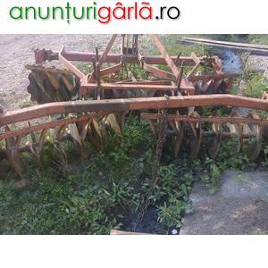 Imagine anunţ Disc Purtat in Tirant
