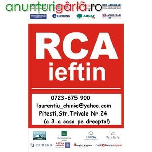 Imagine anunţ RCA Super Ieftin Pitesti -0723.675.900