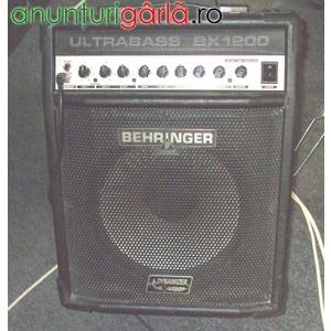 Imagine anunţ Vand combo bas Behringer Ultrabass BX1200