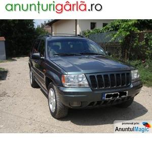 Imagine anunţ Vand jeep grand cherokee 2003 motor 2.7 ( motor mercedes)