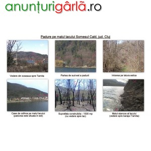 Imagine anunţ Padure turism agrement fonduri europene