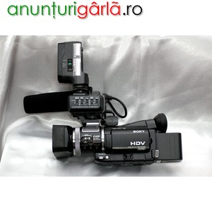 Imagine anunţ Vand Camera Video Profesionala Sony HDR-A1E