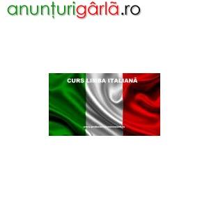 Imagine anunţ Curs Limba Italiana