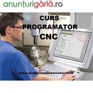 Imagine anunţ Curs Programator CNC – Masini Controlate Numeric