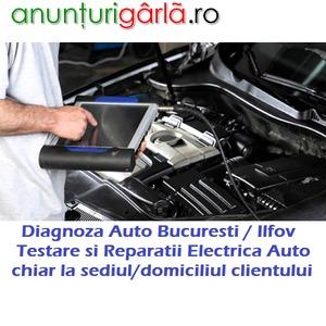Imagine anunţ Servicii Diagnoza Auto Testare Computerizata si Service Electrica chiar si la Domiciliu Bucuresti / Ilfov
