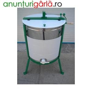 Imagine anunţ Centrifuga apicola inox Finans Serbia 4 rame