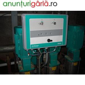 Imagine anunţ service intretinere si reparatii si montat electropompe apa de mare adancime
