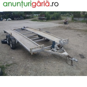 Imagine anunţ vand platforma auto