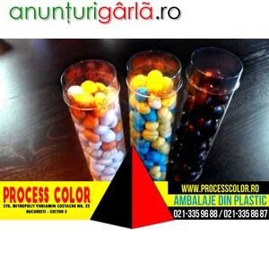 Imagine anunţ Ambalaj Cilindric Plastic Proces Color