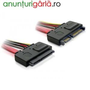 Imagine anunţ Cablu prelungitor (extensie) SATA 50cm - 84361
