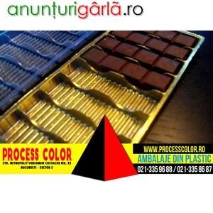 Imagine anunţ Ambalaje Ciocolata Proces Color