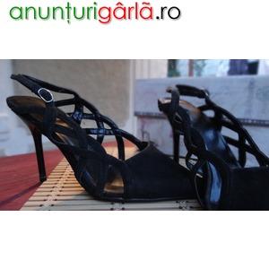 Imagine anunţ Sandale negre de ocazie