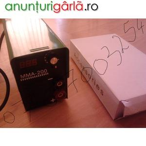 Imagine anunţ invertor sudura 200 ah cu afisaj electronic, urgent!