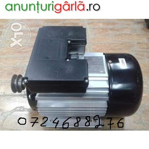Imagine anunţ motor electric monofazat 4kw bobinaj cupru, urgent!