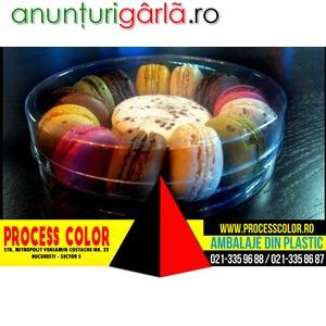 Imagine anunţ Cilindru Pentru Macarons Process Color