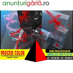 Imagine anunţ Fabricare Cutii Cadou Process Color