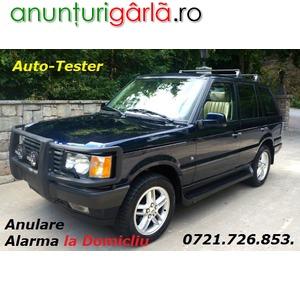 Imagine anunţ Anulare Alarma Imobiizator Land Range Rover Diesel cu Diagnoza Auto si la Domiciliu Bucuresti / Ilfov