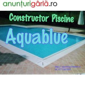 Imagine anunţ Construcții Piscine - Specialiștii montaj pvc Line