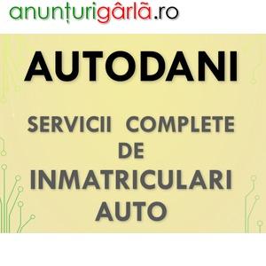 Imagine anunţ Servicii Complete INMATRICULARI AUTO cluj