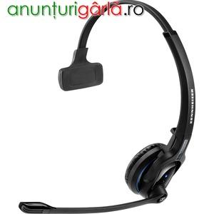 Imagine anunţ Casti cu microfon Bluetooth Sennheiser MB Pro 1