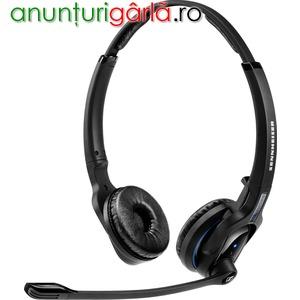 Imagine anunţ Casti cu microfon Bluetooth Sennheiser MB Pro 2