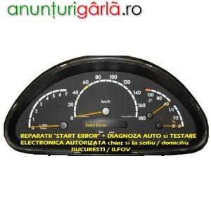 Imagine anunţ Reparatii Mercedes A Class / Vito / Sprinter - Start Error + Diagnoza / Testare Auto la domiciliu Bucuresti/ Ilfov