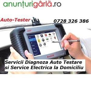 Imagine anunţ Service AUTORIZAT Diagnoza / Testare / Resetare Auto + Deplasari si Reparatii Rapide chiar si la Domiciliu Bucuresti / Ilfov