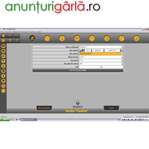 Imagine anunţ Servicii Diagnoza Auto Testare RENAULT si Reparatii Electrica si la Domiciliu Bucuresti / Ilfov