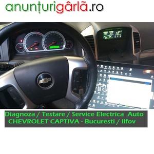 Imagine anunţ Servicii Diagnoza CHEVROLET Testare Auto si Service Rapid Electrica si la Domiciliiu Bucuresti Ilfov