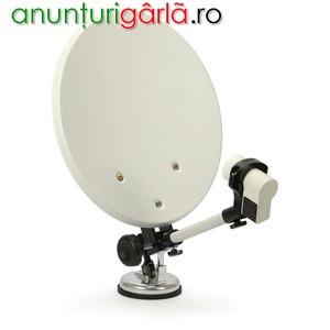 Imagine anunţ Antena satelit tir