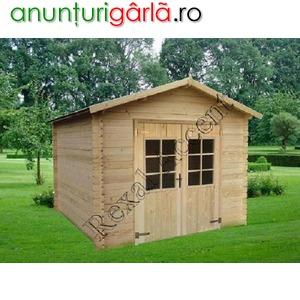 Imagine anunţ Casuta lemn COMPACT, Casute din lemn, Casute de gradina