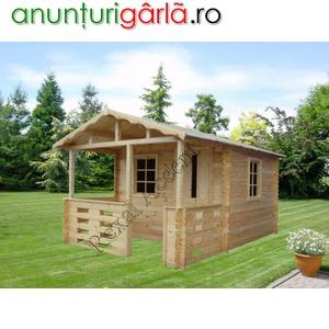 Imagine anunţ Casute de lemn, Casute din lemn cu terasa, model Casuta BM
