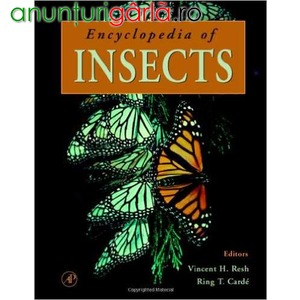 Imagine anunţ Encyclopedia of Insects 90 RON