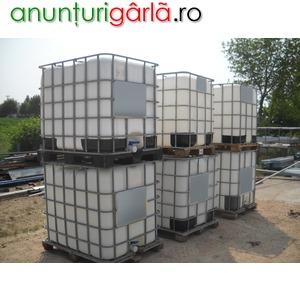 Imagine anunţ Rezervoare de 1000 litri. folosit