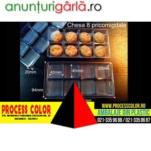 Imagine anunţ Caserole din plastic pentru pricomigdale Process Color
