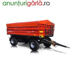 Imagine anunţ remorca agricola 10 tone