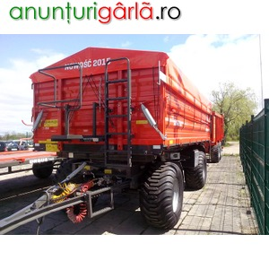 Imagine anunţ remorca agricola 14 tone