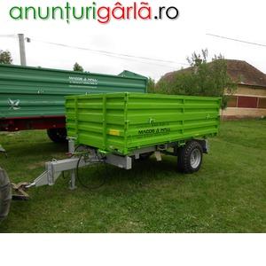 Imagine anunţ remorca agricola 3 tone